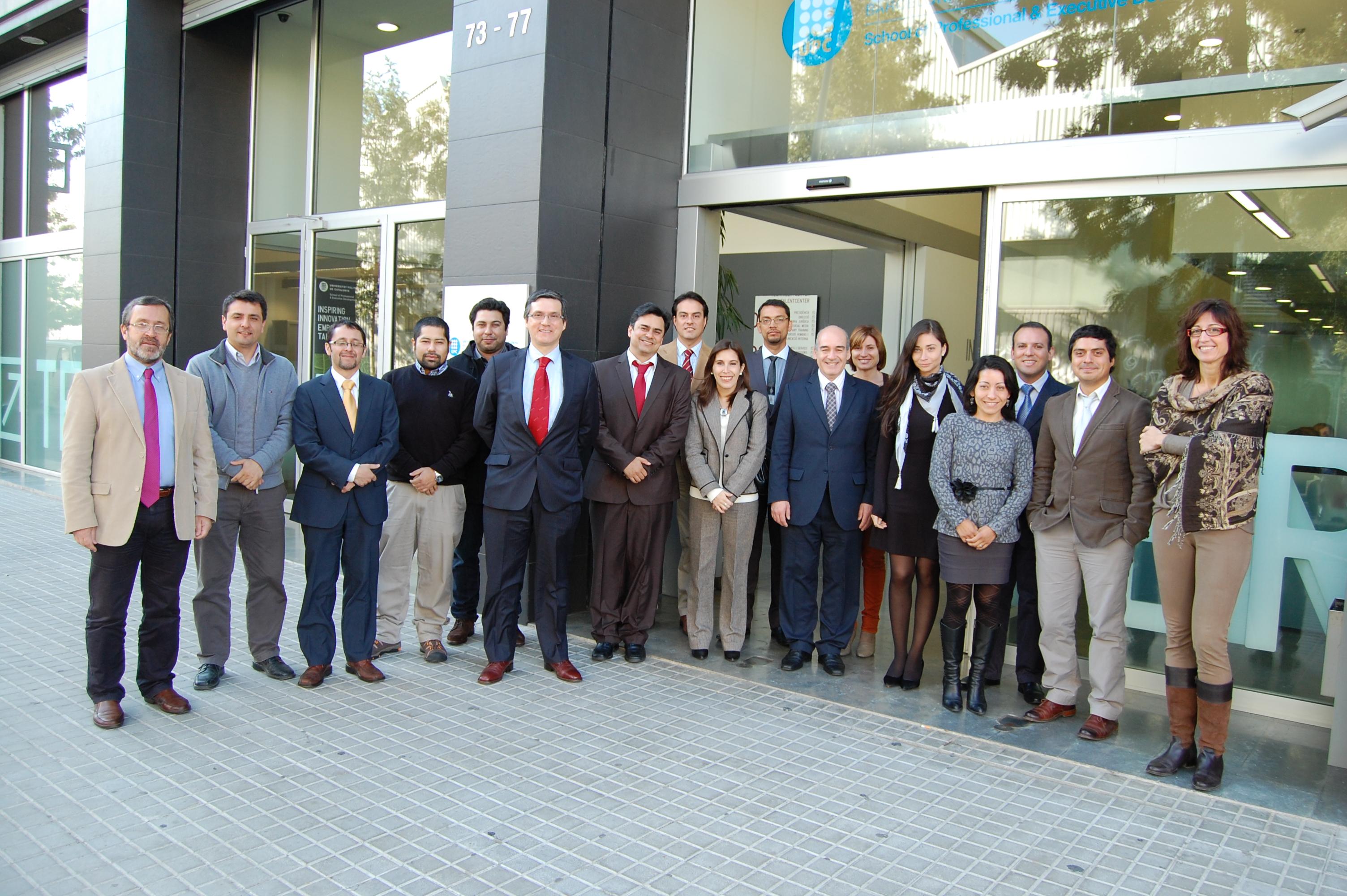 Stage Formativo Universidad Técnica Federico Santa María de Chile