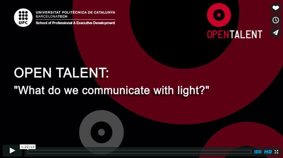 Open Talent Communicate Light