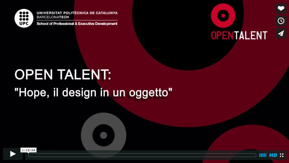 Open Talent Hope Oggetto