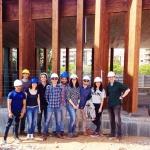 Alumnes del màster en Enginyeria Estructural a l'Arquitectura visiten el Centre Cívic Torre de La Sagrera