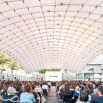 Profesores del máster Parametric Design in Architecture realizan el auditorio efímero del FADfest 2017