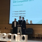 Alumnes del màster en BIM guanyen el tercer premi del Congrés BIMTECNIA 2017