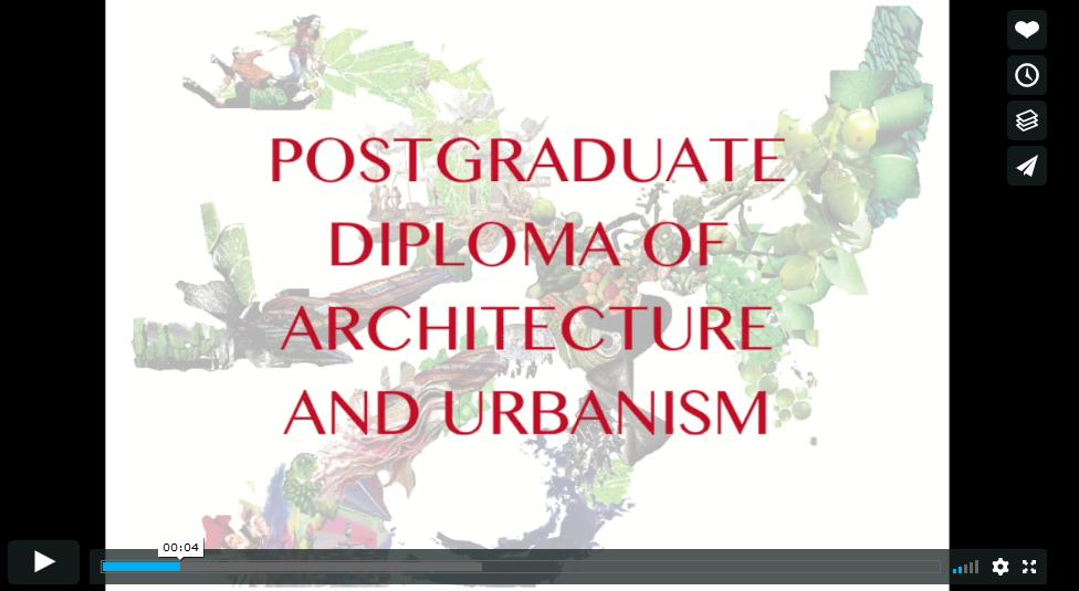 VideoPostgraduateUrbanism