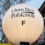 Alumnes de la UPC School participen al festival Llum Bcn 2018