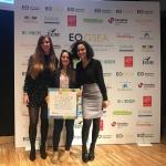 Pilar Marte, exalumna del posgrado en Lean Startup, gana el 2º premio en los Global Student Entrepreneur Awards