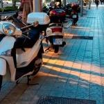Un proyecto final del posgrado en Smart Cities analiza el impacto de las motos en las aceras de Barcelona