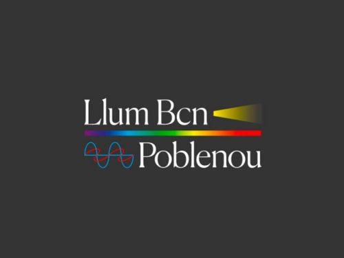 Alumnes de la UPC School participen al festival Llum Bcn 2019